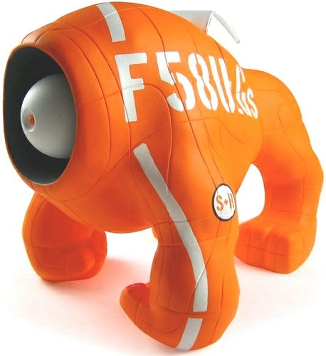 F58 - Search & Rescue Ulligus figure by Unklbrand, produced by Unklbrand. Front view.