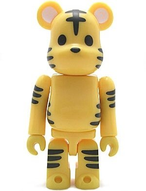 Animal Be@rbrick Series 6 figure, produced by Medicom Toy. Front view.