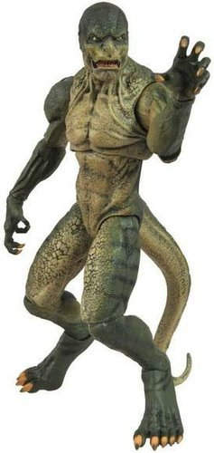 Lizard - Amazing Spider-Man Movie figure by Gentle Giant, produced by Diamond Select. Front view.
