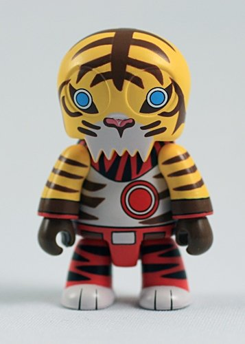 Tiger Toyer figure by TerryS Factory, produced by Toy2R. Front view.