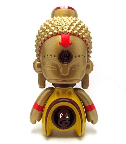 Asia MiniGod  figure by Marka27, produced by Bic Plastics. Front view.