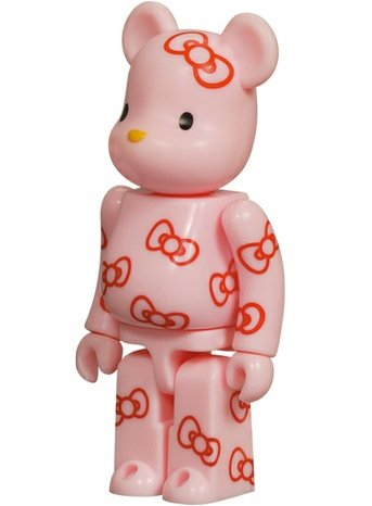 Hello Kitty - Cute Be@rbrick Series 9 figure by Sanrio, produced by Medicom Toy. Front view.