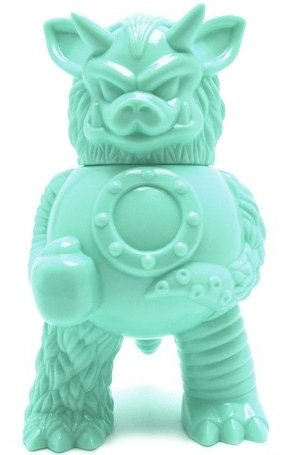 Partyball figure by Paul Kaiju, produced by Super7. Front view.