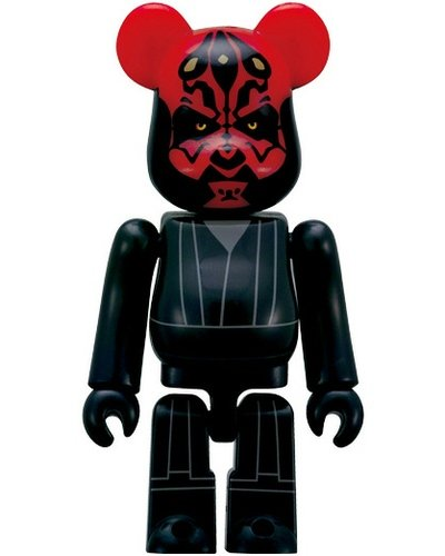 Darth Maul 70% Be@rbrick figure by Lucasfilm Ltd., produced by Medicom Toy. Front view.