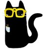 Kitty Go Nerdy