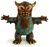 Vintage Gold-horned Greasebat