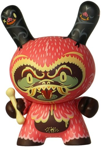 Tree Hugger - Endangered  figure by Kronk, produced by Kidrobot. Front view.