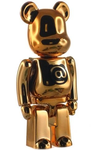 Basic Be@rbrick Series 15 - @ figure, produced by Medicom Toy. Front view.