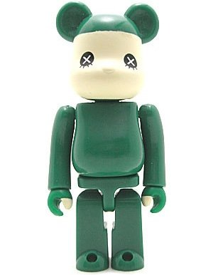 Every Little Thing Be@rbrick figure, produced by Medicom Toy. Front view.