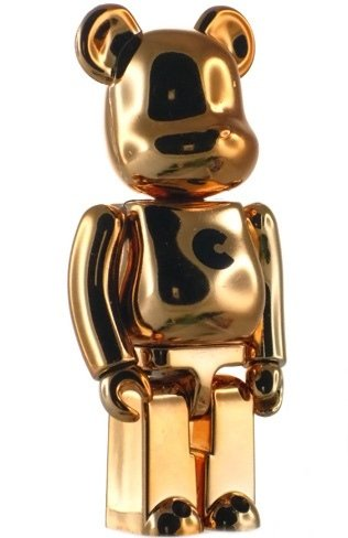 Basic Be@rbrick Series 15 - C figure, produced by Medicom Toy. Front view.