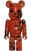 Bape Play Be@rbrick 100% S3 - Orange