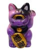 Fortune Cat - Pink Purple Black
