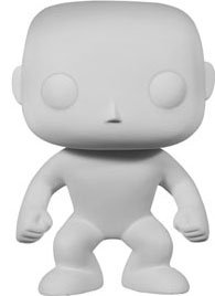POP! Male DIY figure by Funko, produced by Funko. Front view.
