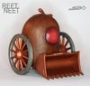 "2.5"" Furly - Sweeper Wood Edition by Reet Neet (R3)"