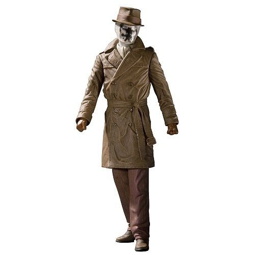 Watchmen: Rorschach figure by Alan Moore, produced by Dc Direct. Front view.