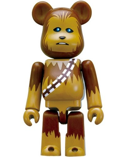 Chewbacca 70% Be@rbrick figure by Lucasfilm Ltd., produced by Medicom Toy. Front view.