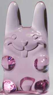 Easter Ungummy Bunny - watery magenta