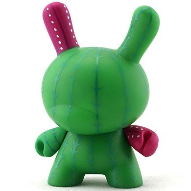 Cactus figure by Artemio, produced by Kidrobot. Front view.