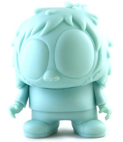 GID Blue Evil Ape figure by Mca, produced by Toy2R. Front view.