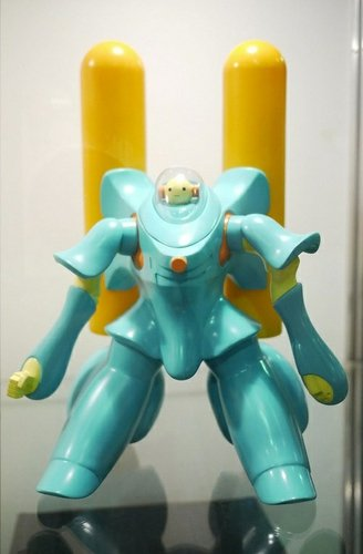 TangoTower figure by United Planet (Mak Siu Fung&Colan Ho), produced by Kinoss International. Front view.