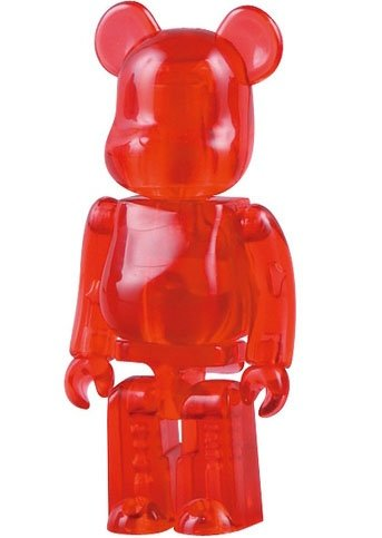 Jellybean Be@rbrick Series 18 figure, produced by Medicom Toy. Front view.
