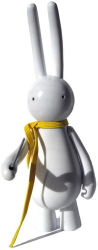 Petit Lapin - Yellow Scarf  figure by Mr. Clement. Front view.