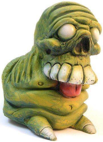 ToxDew Skelechub figure by We Become Monsters (Chris Moore) . Front view.