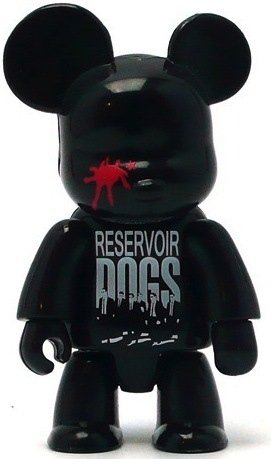 Reservoir Dogs Qee - Black  figure by Toy2R, produced by Toy2R. Front view.