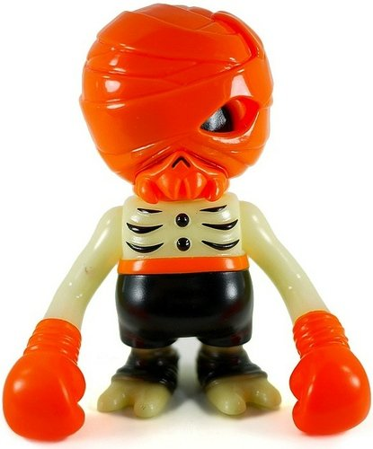 Damage Brain - Halloween Ghouls Night Out figure by Secret Base X Super7 , produced by Secret Base. Front view.