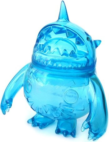 Pocl - Clear Blue figure by Kaijin, produced by Wonderwall. Front view.