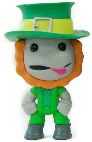 Little Big Planet - Ireland figure, produced by Little Big Planet. Front view.