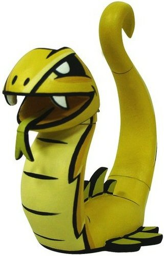 Snake figure by Joe Ledbetter, produced by Play Imaginative. Front view.