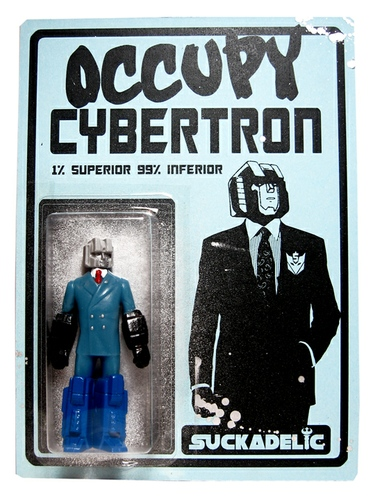 Occupy Cybertron - One Percent Bootleg