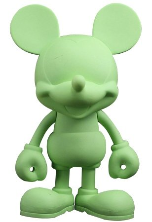 Mickey Mouse - Design It Yourself (Green Edition) figure by Disney, produced by Play Imaginative. Front view.