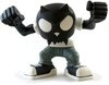 Bobble Head Devil Toyer - Black Head White T-Shirt