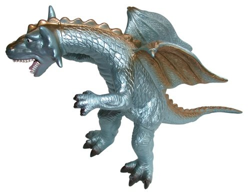 Dragon figure, produced by Toy Major Trading Co. Ltd.. Front view.