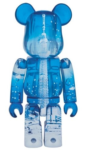 Tokyo Sky Tree Town (R) SEA BE@RBRICK 100% figure, produced by Medicom Toy. Front view.