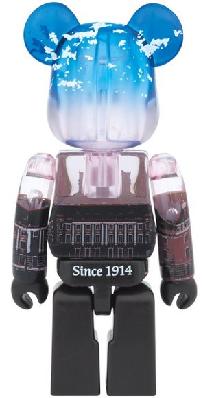 Tokyo Station Marunouchi Be@rbrick 100% figure by Medicom Toy, produced by Medicom Toy. Back view.
