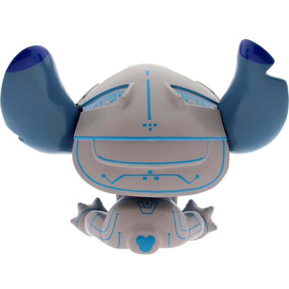 Tron Stitch  figure by Scott Zillner, produced by Mindstyle. Back view.