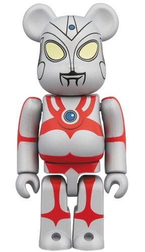 Ultraman Ace BE@RBRICK 100% figure, produced by Medicom Toy. Front view.