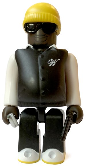 West Gang (B) figure, produced by Medicom Toy. Front view.