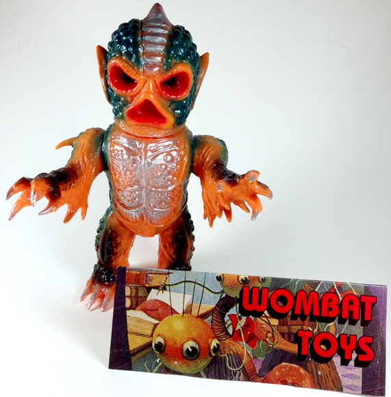 Wombat Toys (ウォンバットトイズ) Comet-X (コメットX ) figure by Wombat Toys X Skull Head Butt, produced by Wombat Toys. Front view.