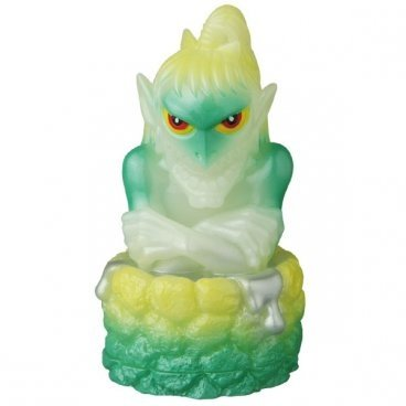 YOUKAI KEMURI OFFICIAL SOFUBI GID figure, produced by Medicom Toy. Front view.