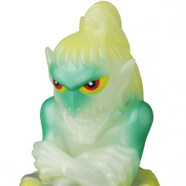 YOUKAI KEMURI OFFICIAL SOFUBI GID figure, produced by Medicom Toy. Detail view.