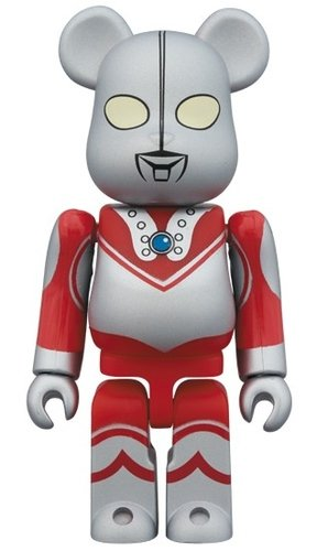 Zoffy BE@RBRICK 100% figure, produced by Medicom Toy. Front view.