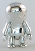 Metallic Silver Toyer Qee