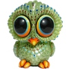 Baby Owl - Pearly Pale Green